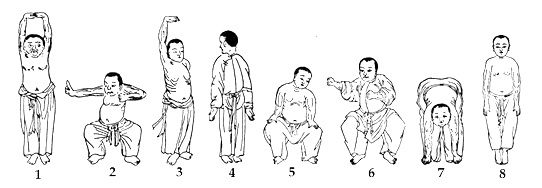 8-Brocades-(Baduanjin-Qigong)